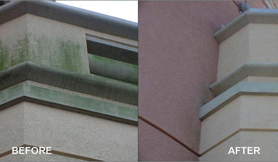 THE BEST WAY TO CLEAN EIFS