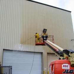 Industrial Pressure Washing