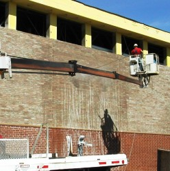 New Construction Pressure Washing
