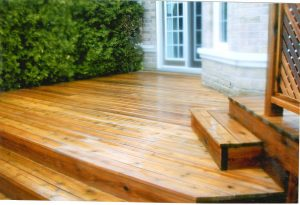 deck cleaning after image burlington ontario