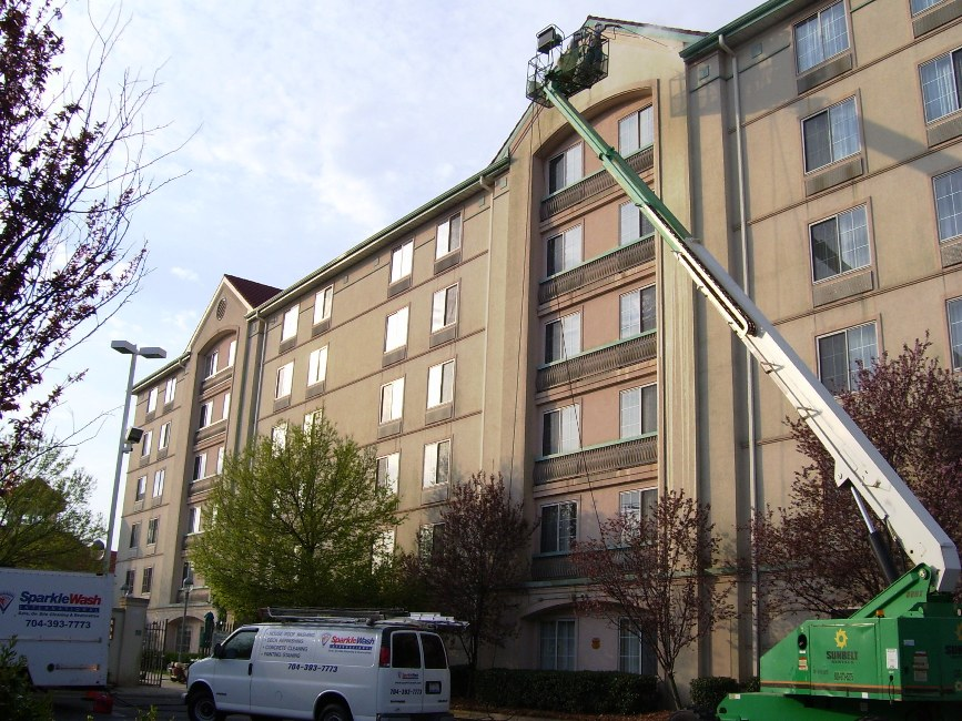 cleaning EIFS