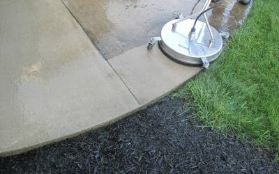 How To Winterize Your Concrete: Power Wash, Seal & Protect