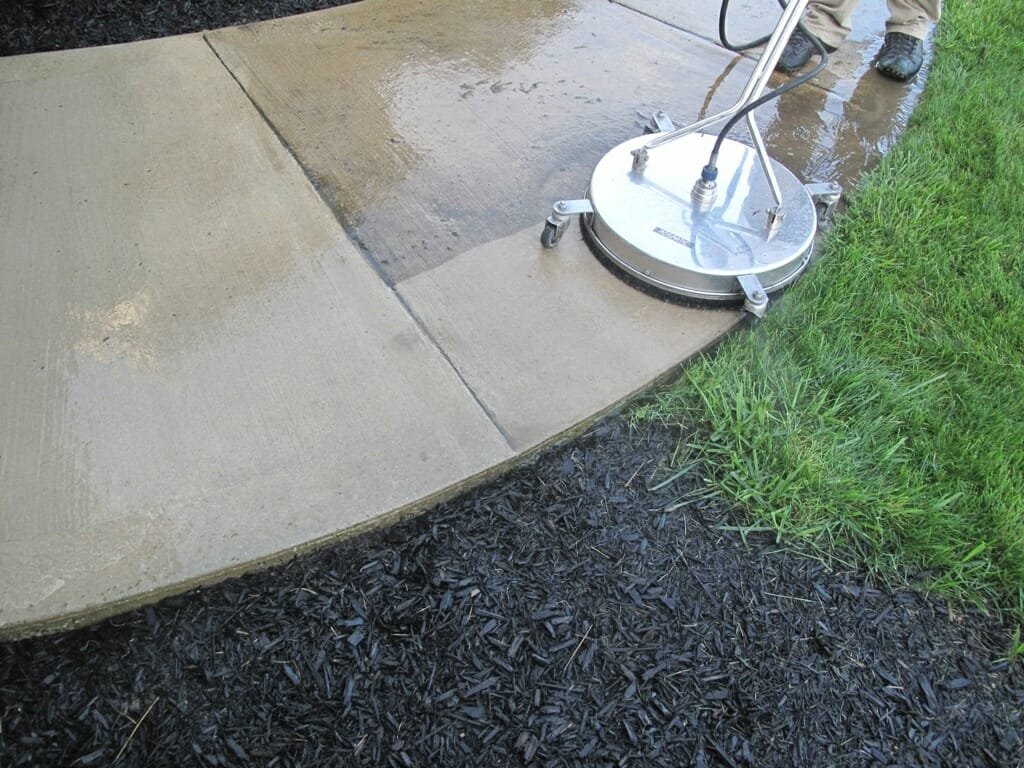 How to winterize your concrete power wash seal protect for Homemade cleaning solution for concrete