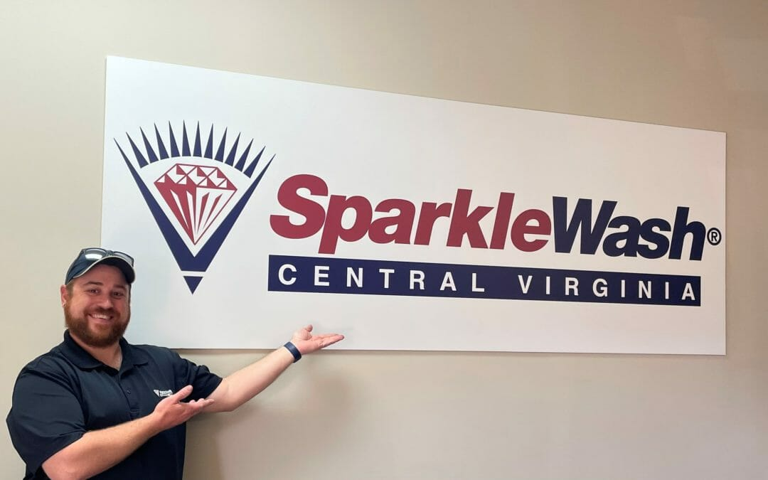 April Outstanding Franchise Spotlight: Sparkle Wash of Central Virginia