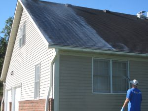 roof cleaning in York County, PA